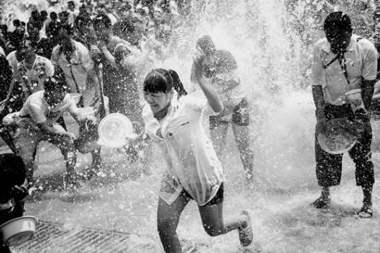The Water Splashing Festival