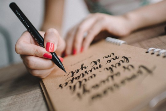 Modern Revival of Calligraphy