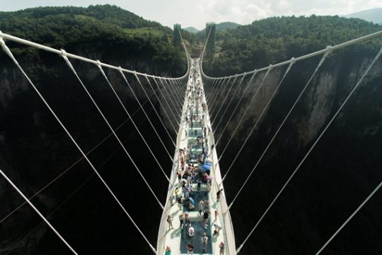 The World's Longest Glass Bridge