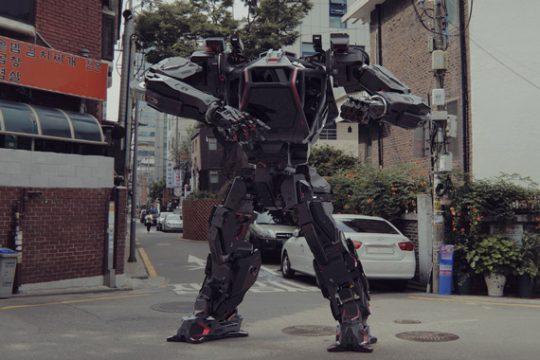 Gundam Robots in Real Life