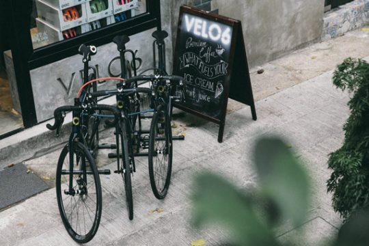 VELO6: Cycling Meets Coffee