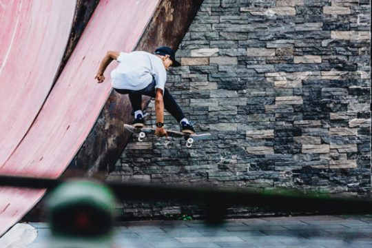 Skating w/ Tony Gao & Simon Sun