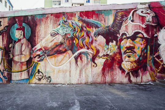 Rise of Mongolian Street Art