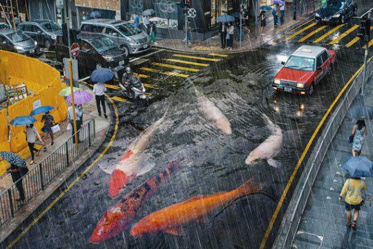Surreal Hong Kong